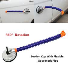 1 Set Car Dent Sag Repair Hand Tool Pump Suction Cup W/Flexible Pipe Flat Lamp