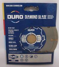 """DURO Diamond Disque Lame 125 mm 5"""" DCG412 DCG405 DGA505 DGA504 DGA506"""