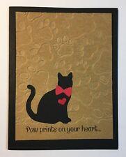 Handmade Loss of a Pet Cat Sympathy Card Bereavement Condolence