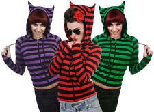 Women's Striped Cotton Hoodies & Sweats