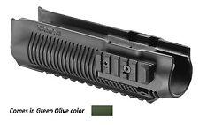 PR 870-S Fab Defense- Remington Polymer Three rail Handguards Green Color