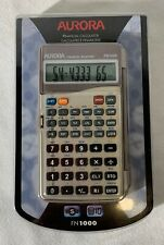 New Aurora Fn1000 Financial Calculator Manager Easy Read Per & Calendar Function