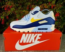 "BNWB & Authentic Nike ® Air Max 90 Essential ""Blue Void"" Trainers UK Size 9.5"