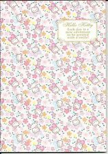 Sanrio Hello Kitty Composition Notebook Flowers Bows
