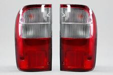 Toyota Hilux 97-05 Rear Tail Light Lamps Pair Set Driver Passenger With Bulbs