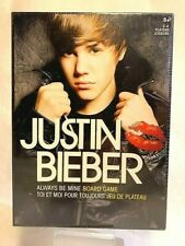 """Justin Bieber """"Always Be Mine"""" Board Game **NEW- FACTORY SEALED**"""