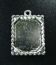 10pcs Tibetan Silver Jagged Rim Picture Frame R693