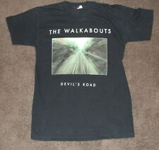 1996 The Walkabouts Devil's Road Europe Concert Tour Vintage Shirt Medium