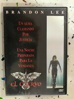 Il Corvo DVD Brandon Lee The Crow - Spagnolo Inglese