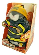 New listing Gemmy Singing And Dancing Hamster Marshall The Fireman 2003 Plush Toy