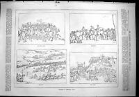 Old Sporting Dramatic News 1880 Horse Racing Century Ago Race Course Victorian