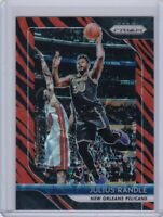 Julius Randle 2018-19 Panini Prizm Tiger Stripe Choice SSP #167