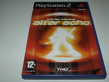 ALTER ECHO by THQ for PS2  (PAL) COMPLETE!