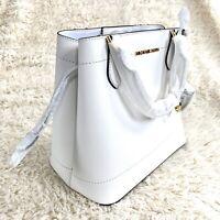 NEW Michael Kors Saffiano Leather Eden LG Drawstring Grab Bag