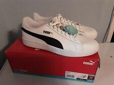 Men's Puma Smash v2 !White/Black Casual Size 11
