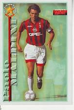 FOOTBALL carte joueur PAOLO MALDINI équipe  MILAN AC