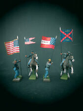 ACW Civil War Fahnen für BRITAINS DEETAIL Figuren ** Update 10.01.2021 **