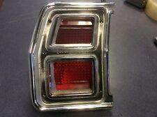 1969 DODGE CORONET WAGON TAIL LIGHT LENS+BEZEL LEFT PT#2930483 MOPAR CHRYSLER