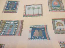 Telas y tejidos cuadrados color principal multicolor para costura y mercería