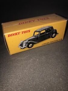 Rare Jouet  DINKY TOYS 1/43 CITROËN TRACTION 11 BL VINTAGE CAR 24N Neuf