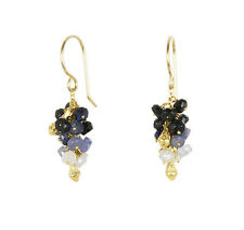 Catherine Weitzman SOLDES Or Saphir Pois Boucles D'oreilles Grappe )