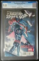 Amazing Spider-Man #699.1 Marvel Comics CGC 9.8 White Pages