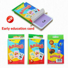 36pcs Early Learning English Number Letter Game Educational Card Kids DIY Gifts