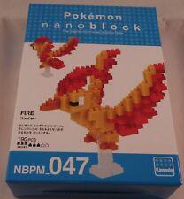 Kawada Nanoblock Pokemon Fire - Japan building toy Nbpm_047 Ltd Worldwide