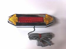 BICYCLE DIRECTIONAL TURNING SIGNAL LIGHT RED REFLECTOR CRUISER LOWRIDER MTB BMX