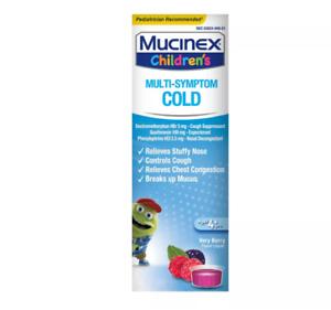 Children's Mucinex Multi-Symptom Cold Relief Liquid
