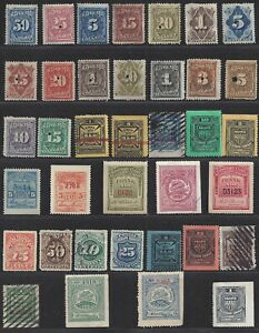 Collection of Telegraph Stamps