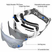 NXONE Ski Goggles for UNISEX, Anti-Fog Over Glasses Snowboard Gogg NEW VL
