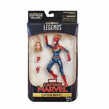 Marvel Legends Captain Marvel Action Figure The Avengers Model Toys Cos 6''