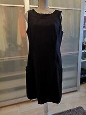 Esprit Wollkleid Trägerkleid schwarz Gr. 42