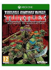 TEENAGE MUTANT NINJA TURTLES TMNT MUTANTS IN MANHATTAN XBOX ONE BRAND NEW SEALED
