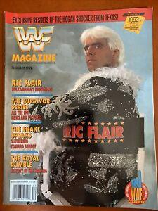 WWF Magazine February 1992 Ric Flair Cover Wrestling