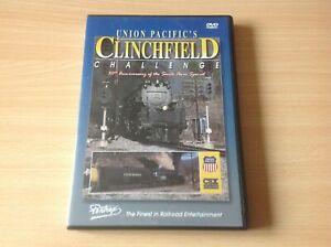 Union Pacifics Clinchfield Challenge 50th DVD pentrex steam