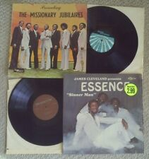 gospel soul funk X 2 THE MISSIONARY JUBILAIRES & ESSENCE - BOTH LP's ARE MINT-!!