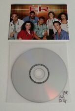 ER - Season 2 – Disc 4 - Region 2 - Replacement DVD - DISC ONLY