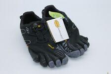 Vibram FiveFingers V-Trail Womens Grey Black Running Sports Shoes Trainers UK 4