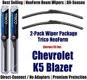 2-Pack NeoForm Wipers fit 1973-1986 Chevy K30 Pickup K5 Blazer - 16160x2