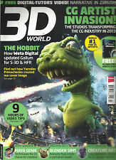 3D WORLD MAGAZINE,  FEBRUARY, 2013  NO.165 ( SORRY, FREE EXCLUSIVE VIDEO MISSING