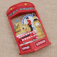 Novelty 3D Travel London Fridge Magnet Magnetic Sticker Souvenir Home Decor