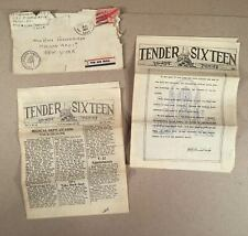 1945 WWII SEAPLANE TENDER USS ST. GEORGE (AV-16) 2 Ship Newsletter Newspapers