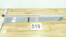6 Nippon 990 Ns Pro Gh Iron Golf Club Shafts .370 Angle Cut Callaway Pulls