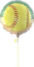 Fastpitch Softball Party Mylar Balloon - Girl's Sports Birthday Team Party