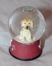 Midwest of Cannon Falls Bobblehead Dog Puppy Mini Water Snow Globe