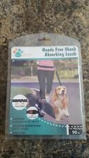 Hands Free Shock Absorbing Dog Leash Belt for dogs up to 90lbs