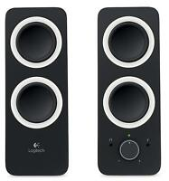 Logitech Multimedia Balanced Stereo Sound Speakers System Computer PC Mac