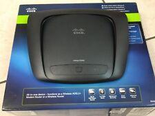MODEM ROUTER CISCO LINKSYS X2000 ADSL 2+ WI-FI 300 Mbps